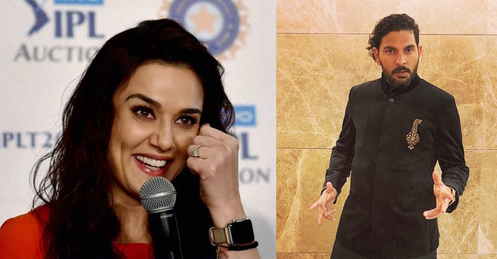 Preity Zinta is all over the moon as Yuvraj Singh returns to Kings XI Punjab