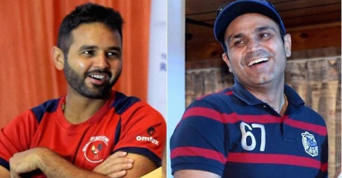 Parthiv Patel, Virendra Sehwag