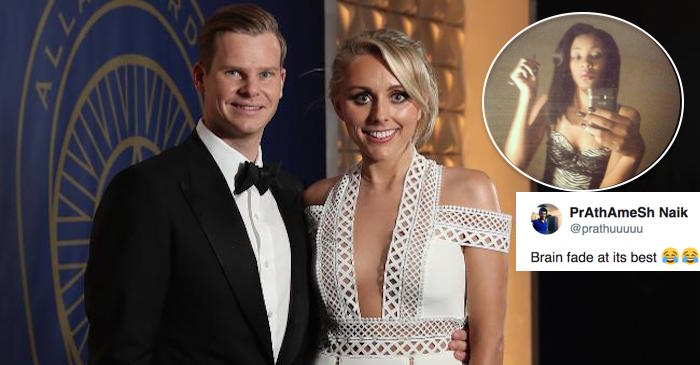 Steve Smith tagged a wrong girl instead of his fiancee; gets hilariously trolled