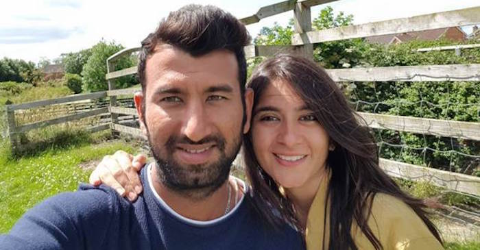 Cheteshwar Pujara blessed with a baby girl