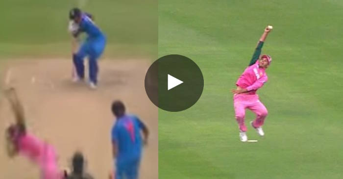 VIDEO: Aiden Markram grabs a stunner to dismiss Hardik Pandya