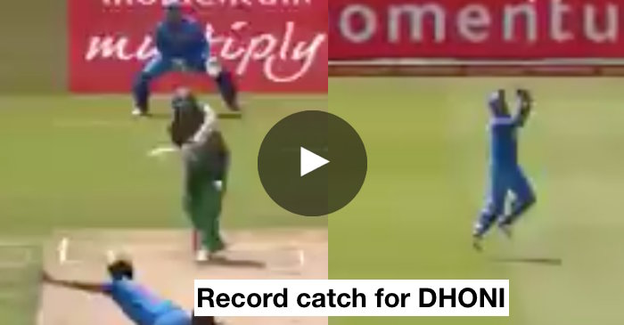 VIDEO: MS Dhoni completes 600 catches in International cricket