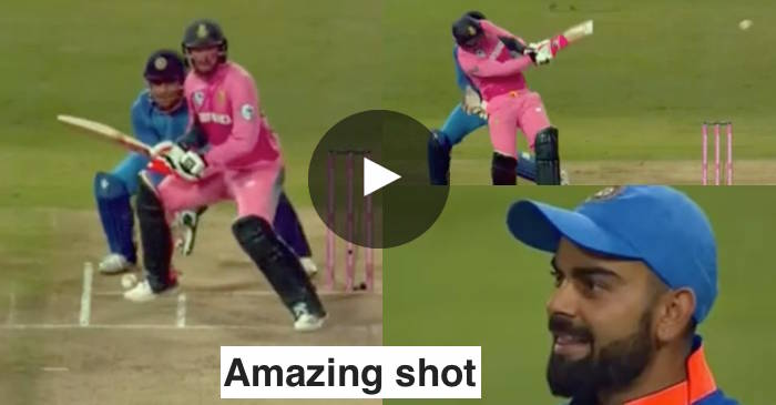 VIDEO: Heinrich Klaasen's amazing shot leaves Virat Kohli in splits