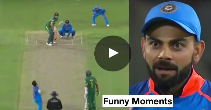 VIDEO: MS Dhoni, Virat Kohli's epic chatter caught on stump mic