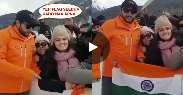 VIDEO: Shahid Afridi wins hearts of millions of Indians with his beautiful gesture