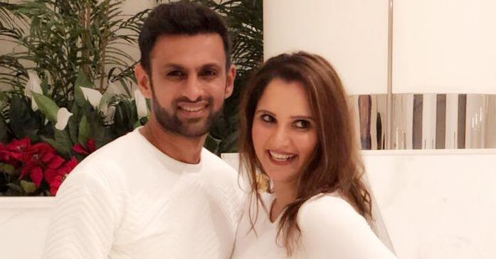 Sania Mirza tweets her birthday wish for husband Shoaib Malik; he sends her a kiss