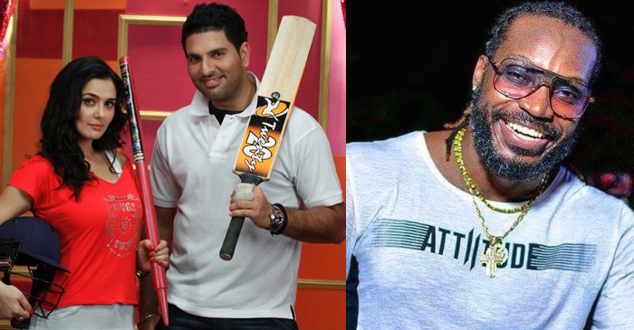 Chris Gayle responds to Yuvraj Singh's bhangra related question