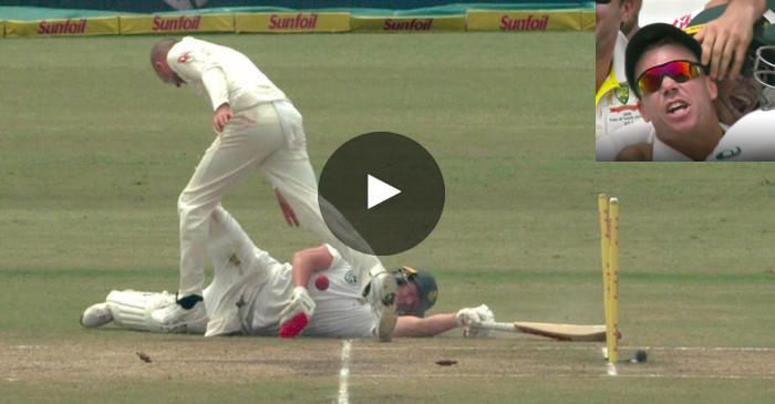 WATCH: David Warner gives a fiery send off to AB de Villiers