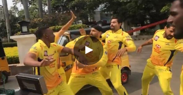 WATCH: Chennai Super Kings' players dancing on the streets