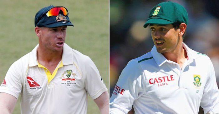 David Warner, Quinton de Kock charged for breaching ICC Code over first Test spat