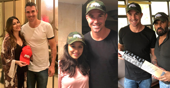 Kevin Pietersen and Bollywood stars join together to preserve wildlife