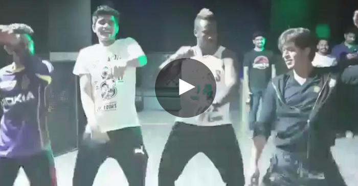 WATCH: KKR players dances to Bollywood songs with Shah Rukh Khan