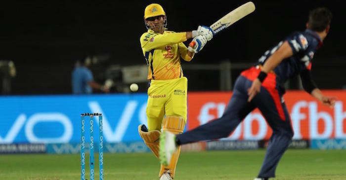 Twitter erupts as MS Dhoni scores his second fastest fifty in the IPL