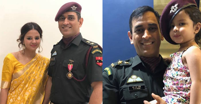 MS Dhoni thanks Indian armed forces after being conferred with Padma Bhushan
