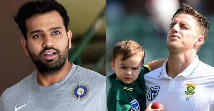 Rohit Sharma shares a special message for emotional Morne Morkel