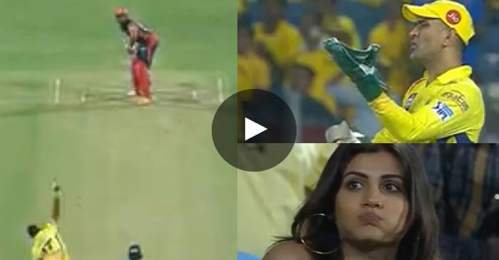 WATCH: MS Dhoni's animated reaction to Dwayne Bravo's bowling