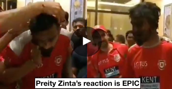 WATCH: KL Rahul gets cake smashed on his face post KXIP's superb win over RR