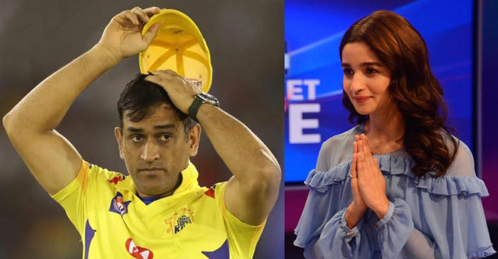 Bollywood actress Alia Bhatt has a new career option for MS Dhoni