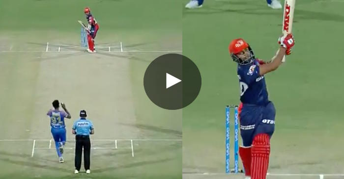 WATCH: Prithvi Shaw's short arm jab for six leaves commentators in awe