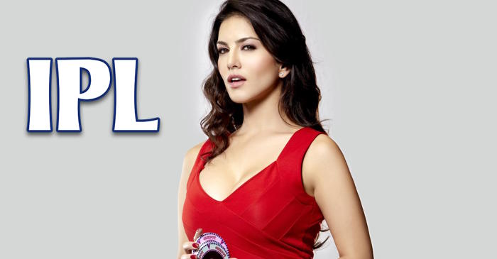 Photos: Bollywood actress Sunny Leone watches an IPL game at the Wankhede