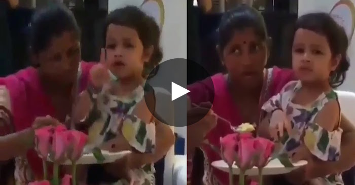 VIDEO: MS Dhoni's daughter Ziva's stern warning to a photographer is breaking the internet