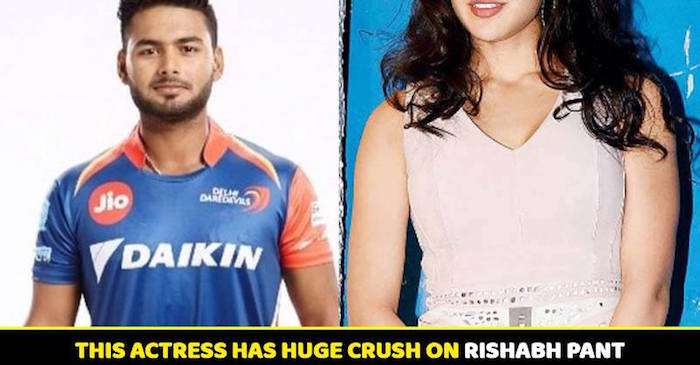 This Indian Actress Is In Love With Rishabh Pant? Check out Who She Is