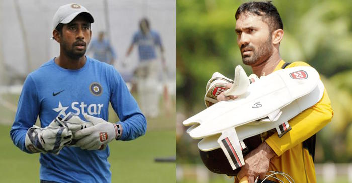 Dinesh Karthik replaces injured Wriddhiman Saha for one-off Test against Afghanistan