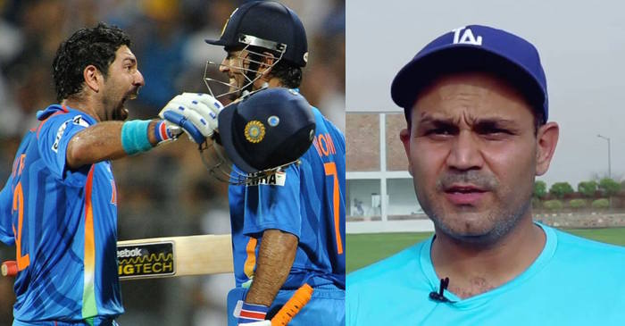 Virender Sehwag reveals why MS Dhoni batted ahead of Yuvraj Singh in the World Cup 2011 final