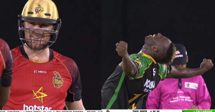 Andre Russell hat-trick