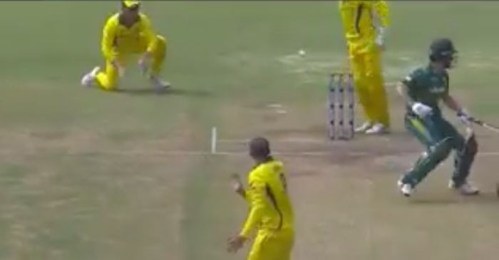 WATCH: The brain fade moment for Farhaan Behardien against Australia A
