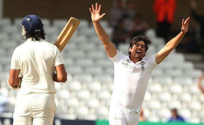 WATCH: When Alastair Cook dismissed Ishant Sharma to take his only ...