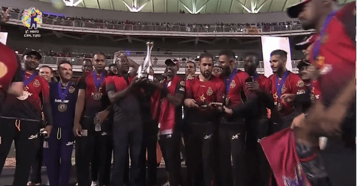 CPL 2018 winners - Trinbago Knight Riders