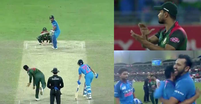 WATCH: The winning moment of Asia Cup 2018 final