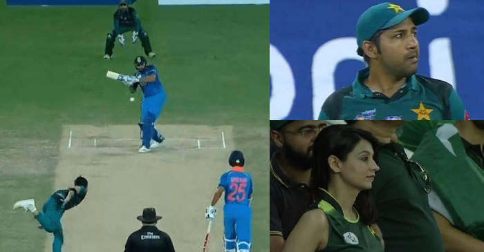 WATCH: Rohit Sharma smashes Usman Khan for a towering six