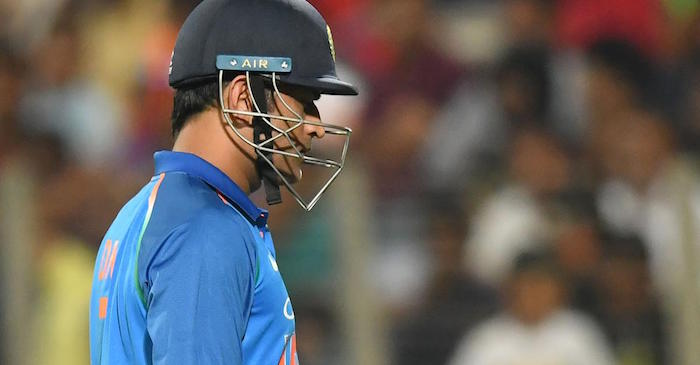MS Dhoni dropped from T20I