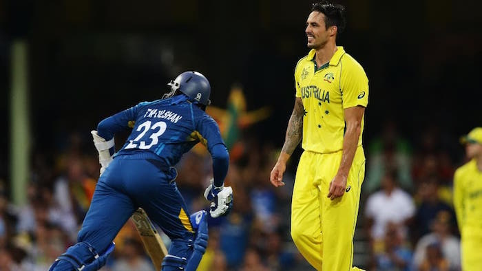TM Dilshan, Mitchell Johnson