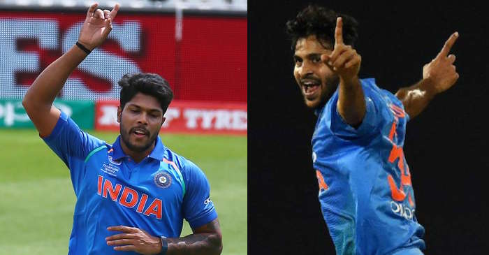 Umesh Yadav, Shardul Thakur