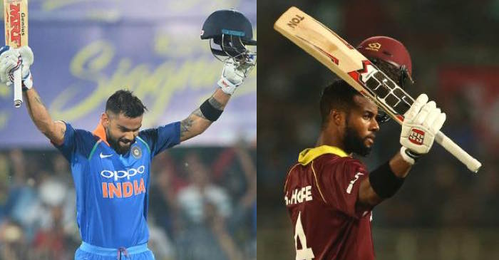 Twitter Reactions: Virat Kohli, Shai Hope score centuries as India-West Indies play out thrilling tie