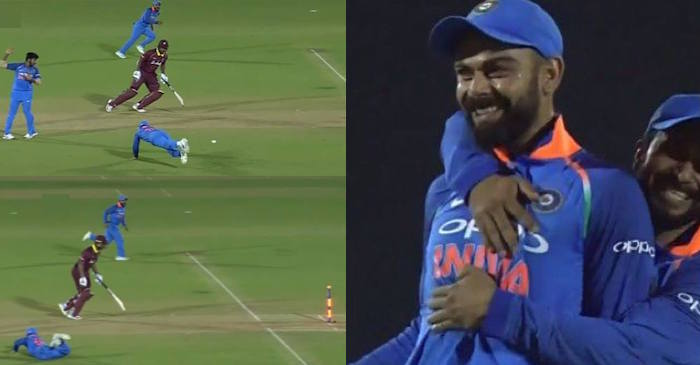 Virat Kohli run-out