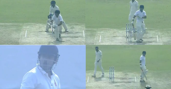 Angry Gautam Gambhir vents out his anger at umpire for a rough decision
