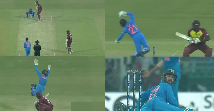 WATCH: Krunal Pandya leaves Dinesh Karthik shocked with a vicious bouncer