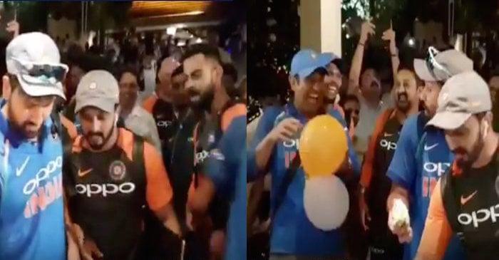 Team India celebration