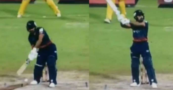 WATCH: Rashid Khan emulates MS Dhoni's signature 'helicopter shot' in T10 league