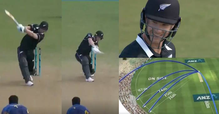 WATCH: James Neesham smashes 34 runs in Thisara Perera's over