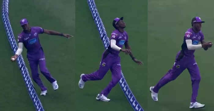 WATCH: Jofra Archer takes an incredible catch near the boundary rope