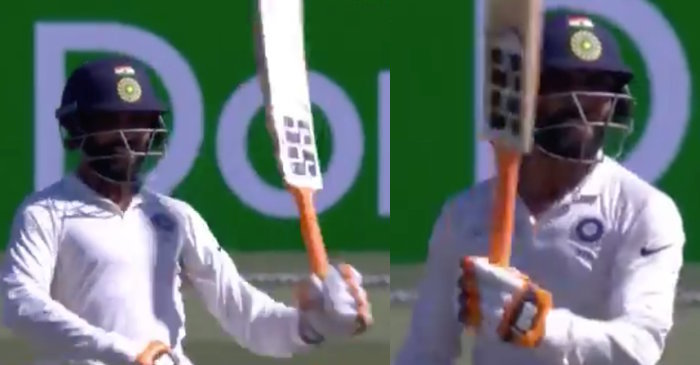 WATCH: Ravindra Jadeja enthralls the SCG crowd with his sword celebration