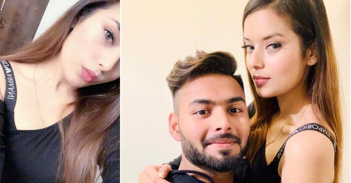 Rishabh Pant with his girlfriend Isha Negi