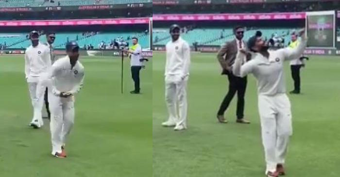 WATCH: Rishabh Pant dances on the 'babysitter' song after India's historic win in Australia