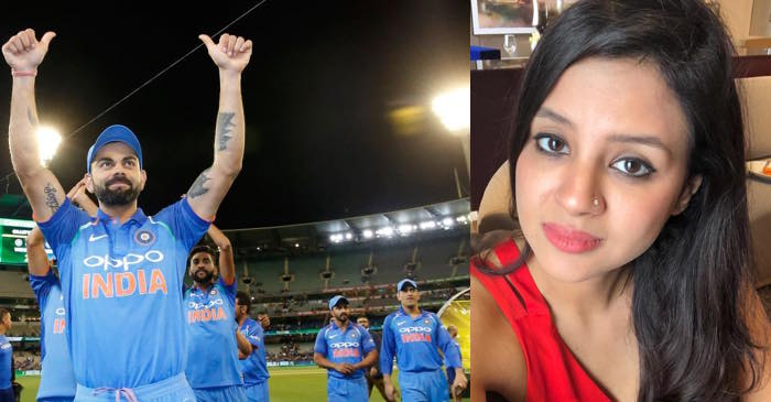 Sakshi Dhoni, Team India