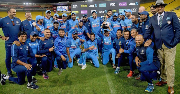 WATCH: Team India celebrates in 'Uri' style after registering their biggest series win in New Zealand
